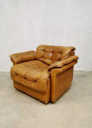 Patchwork vintage DS-11 armchair lounge chair ottoman fauteuil design