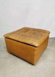 DS-11 De Sede vintage ottoman voetenbank armchair lounge fauteuil seventies design foot stool