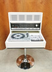 vintage turntable hifi record player music player stereo