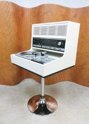 Zeldzame Rosita Space Age Commander Luxus music player stereo set