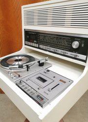 seventies turntable Rosita Philips stereo radio