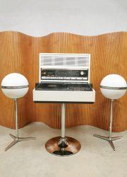 Zeldzame Rosita Space Age Commander Luxus music player stereo set boxen retro