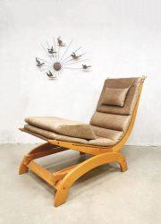 vintage schommelstoel rocking chair bohemian style