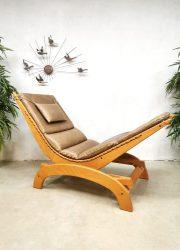 Vintage design rocking chair schommelstoel 'relaxer'