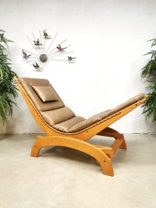 Vintage design rocking chair schommelstoel 'relaxer'