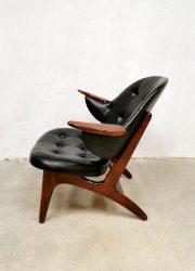 lounge fauteuil vintage design Arne Hovmand Olsen