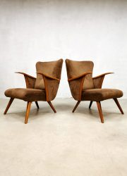 corduroy armchairs wingback chairs design lounge fauteuils
