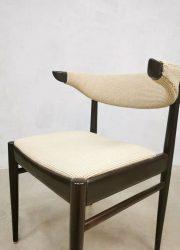 Eetkamerstoelen stoelen jaren 60 Deens vintage design midcentury dinner chairs dining chair