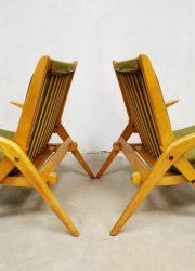 Scissor legs set armchairs lounge chair vintage midcentury fauteuil