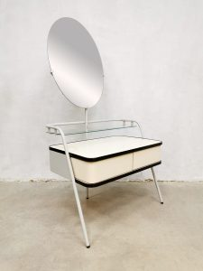 Vintage Dutch design Auping dressing vanity table kaptafel 'oval'