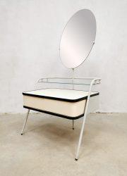 Vanity dressing table dresser vintage Dutch kaptafel midcentury Auping fifties jaren 50