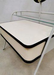 Vintage Dutch design Auping dressing vanity table kaptafel 'oval'