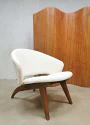 Vintage Dutch design easy chair Artifort fauteuil Theo Ruth 1950