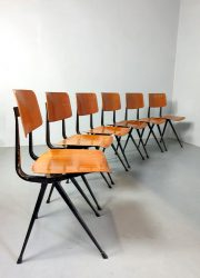 industriele schoolstoelen Dutch design Friso Kramer Result