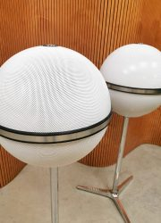 vintage retro speakers Grundig bollen audiorama Hifi 8000