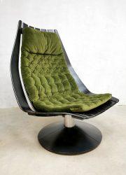 swivel chair Hans Brattrud lounge draaifauteuil