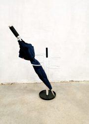 Sixties design jaren 60 vintage umbrella stand paraplu standaard