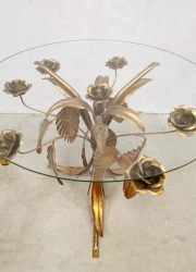 hollywood regency salontafel gold gilded