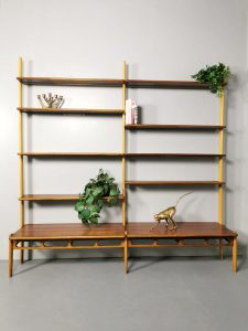 Vintage design wall unit wandmeubel William Watting A. Mikael Laursen