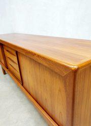 Midcentury teak dressoir sideboard Danish design Nielsen