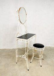 Vintage Baroque dressing table & stool kaptafel console French desig
