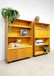 midcentury modern design wandkast wall unit cabinet