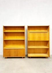 Pastoe Braakman oak series cabinet secretaire
