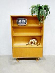 Vintage cabinet boekenkast Pastoe Cees Braakman birch series BB03