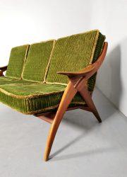 the knot sofa midcentury bank lounge bank de Ster Gelderland