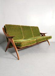 Vintage Dutch design sofa lounge bank De Ster Gelderland
