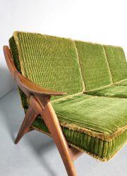 Gelderland the knot sofa bank de knoop vintage design teak