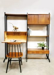 wall unit Simpla lux Dutch design wall unit midcentury