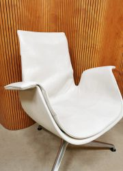 white leather vintage office chair Kill International