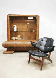 Midcentury design easy chair lounge fauteuil Carl Edward Matthes