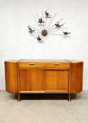 vintage art deco cabinet wandkast A.A. Patijn Zijlstra vintage dressoir