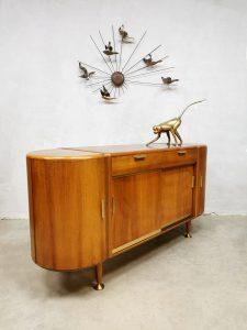 Midcentury Dutch design sideboard dressoir A.A. Patijn Zijlstra