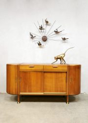 Midcentury Dutch design sideboard dressoir A.A. Patijn Zijlstra