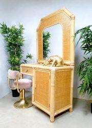 hollywood regency style vanity table kaptafel