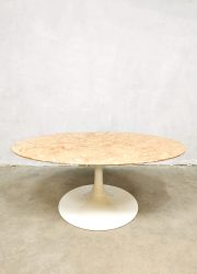 Knoll style coffee table marble marmeren salontafel