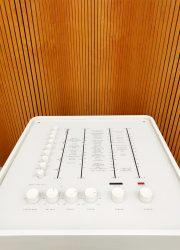 vintage design music player Dane Verner Panton in 1963 Wega 3300 Hifi Stereophonic system sixties