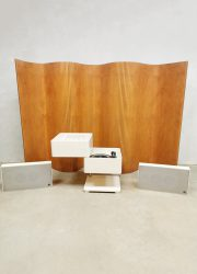 midcentury design music player Dane Verner Panton in 1963 Wega 3300 Hifi Stereophonic system