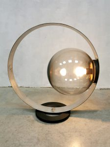 Midcentury design globe table lamp bollamp 'infinity light'