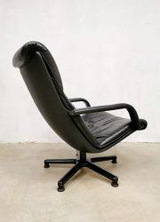vintage Artifort armchair Geoffrey Harcourt lounge fauteuil ottoman