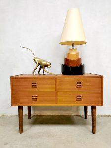 Vintage Swedish design cabinet chest of drawers ladekast
