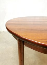 midcentury design dining table rosewood