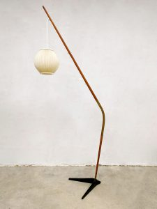 Danish design floor lamp Svend Age Holm Sorensen