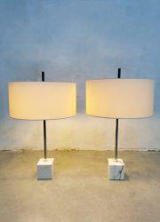 Raak Amsterdam marble base table lamp D-2153