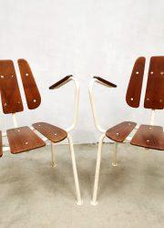 Midcentury garden chair tuinstoel Danish vintage outdoor set Daneline sixties tuinset design