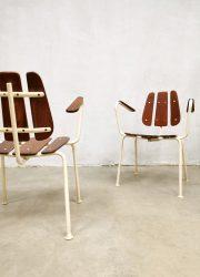 Midcentury Danish design garden chairs outdoor tuinstoelen Daneline
