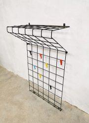 vintage kapstok toonladder coat rack design